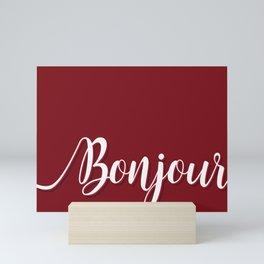 Bonjour Mini Art Print