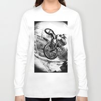 bikes Long Sleeve T-shirts featuring bikes  by KayleeRae