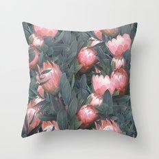 Proteas party Throw Pillow