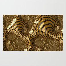 Electric Gold Rug