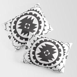 Native Amrican STEM Mandala Southwestern Pillow Sham