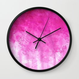Pink Lava Wall Clock