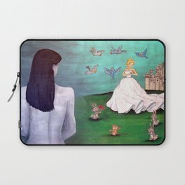 Real Life is Not a Fairy Tale Laptop Sleeve