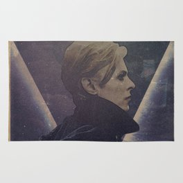 David Bowie The man who fell to earth Rug