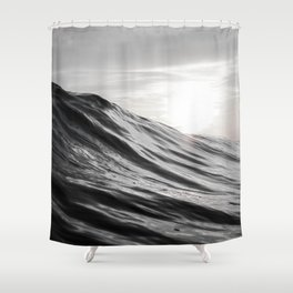 Motion of Water Shower Curtain