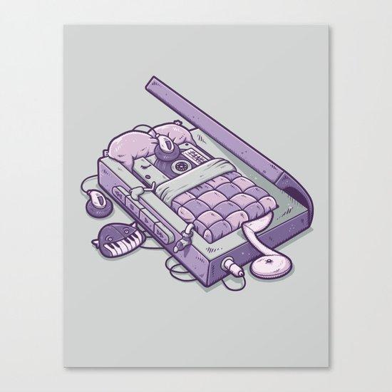 TAPE NAP Canvas Print