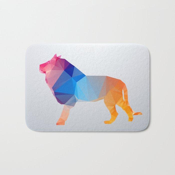 Glass Animal Series - Lion Bath Mat