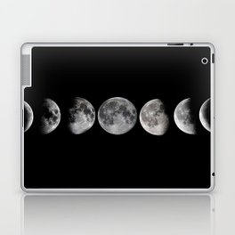 Phases of the Moon Laptop & iPad Skin