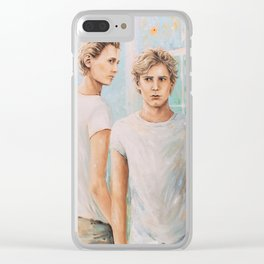 Love at first sight Clear iPhone Case