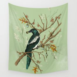 Magpie Jewels Wall Tapestry