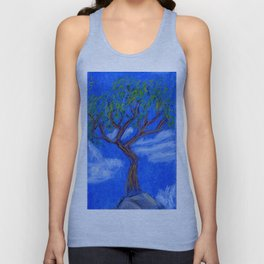 REALLY Blue Bonsai Unisex Tank Top