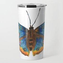 Buckeye Butterfly Travel Mug