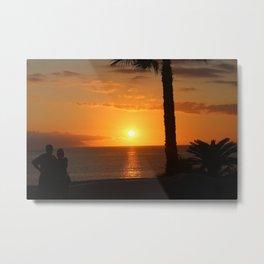 Sunset in Tenerife Metal Print