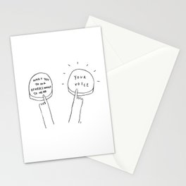 Unqualified Advice 7: Authenticity Stationery Cards
