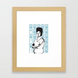 North Respect Framed Art Print