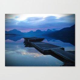 Lake MacDonald Morning Canvas Print