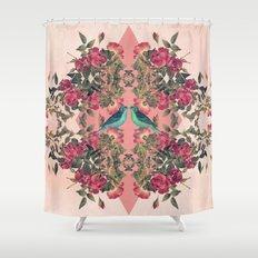 Love Birds II (pink edition) Shower Curtain