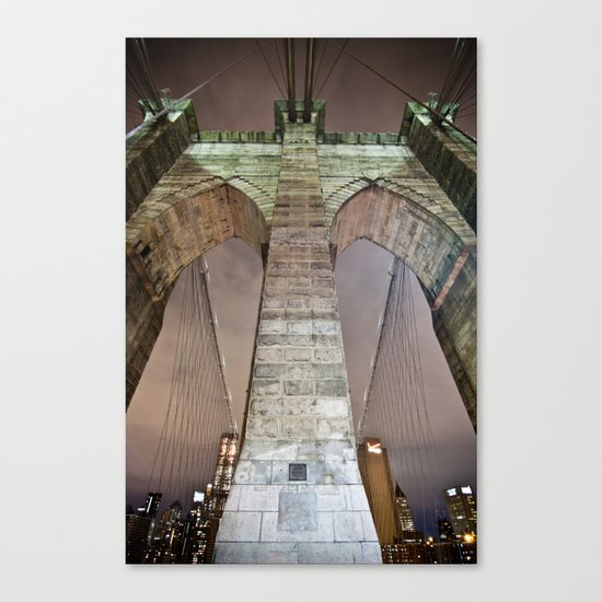 The bridge. Canvas Print