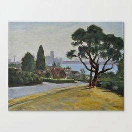 Magnolia Boulevard Canvas Print