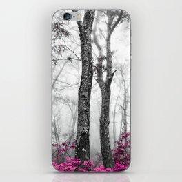Princess Pink Forest Garden iPhone Skin