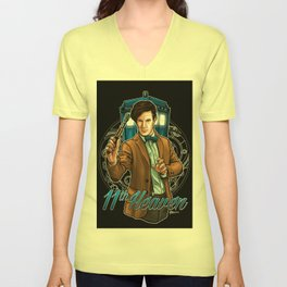11th Heaven Doctor Who Unisex V-Neck