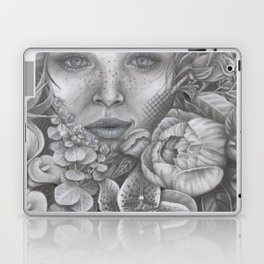 Lady In Bloom Laptop & iPad Skin