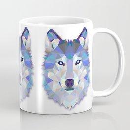 Colorful Wolf Coffee Mug