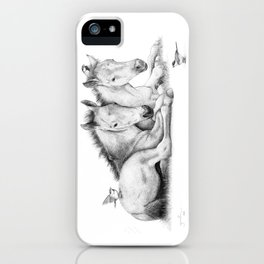 Twin Foals iPhone Case
