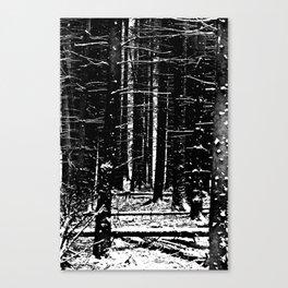 Forest Dark II Canvas Print