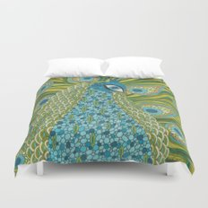 The Peacock Duvet Cover