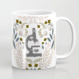 Gray Folk Microscope Coffee Mug