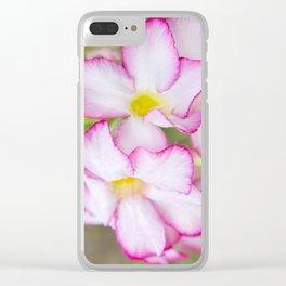 Mekong Flora Clear iPhone Case