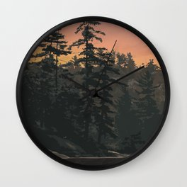 Kawartha Highlands Provincial Park Wall Clock