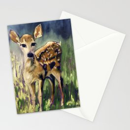 Here I am Deer Stationery Cards