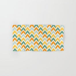 Citrus Chevron Hand & Bath Towel