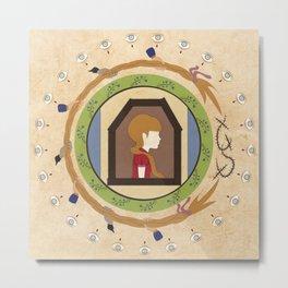Circle Stories - Rapunzel Metal Print