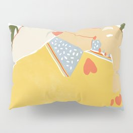 Heart on her sleeve Pillow Sham