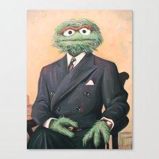 Sir Oscar Grouch Canvas Print