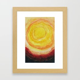 The Hot Blazing Sun Is All I Need Framed Art Print