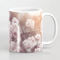 blush Mugs featuring Blush by Jamesy (happypastel)