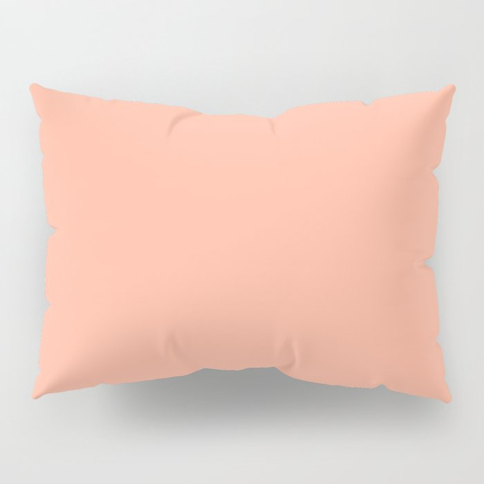 Simply Sweet Peach Coral Pillow Sham