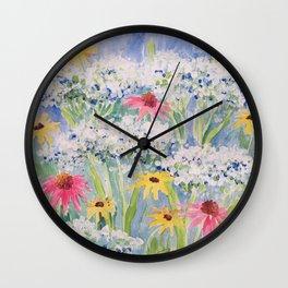JUBILANT BOUQUET Wall Clock