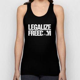 Legalize Freedom Online Poker WPT PPA Gambling Poker Unisex Tank Top