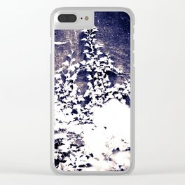 Ivy & Weeds on the Wall Clear iPhone Case