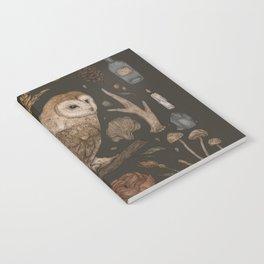 Harvest Owl Notebook