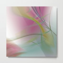 Spring and the first green Metal Print