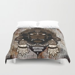 Overpower Overcome Duvet Cover