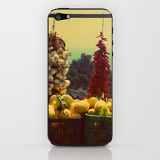 Garlic, Peppers & Lemons in Amalfi, Italy iPhone & iPod Skin