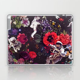 Flowers and Astronauts Laptop & iPad Skin