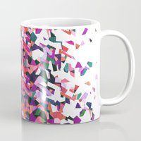 beethoven Mugs featuring Beethoven abstraction by Laura Roode